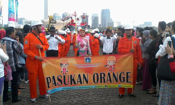 pasukan orange