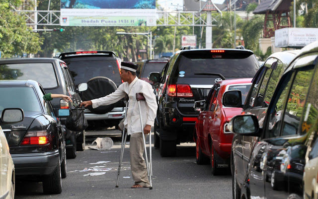 Pengemis di Jakarta